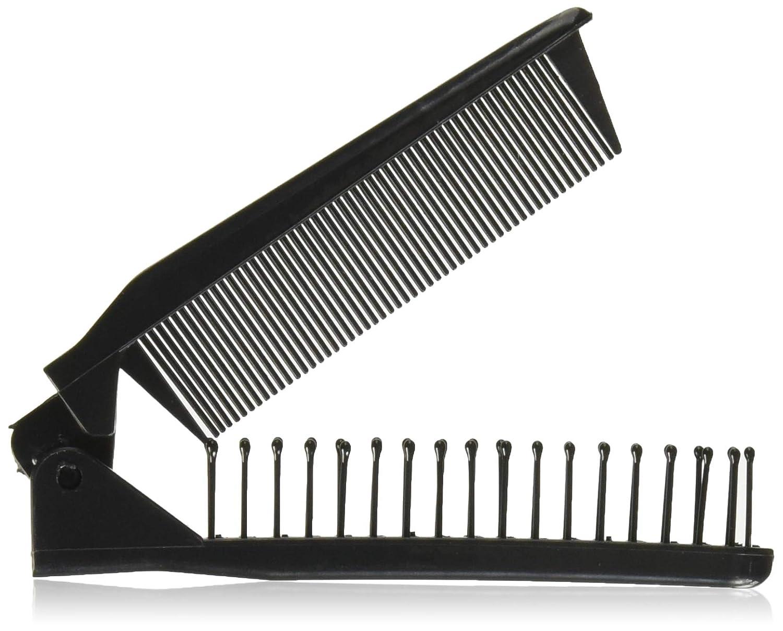 91119bc9d395 Amazon.com   Travel Hair Brushes Comb for Women - New Folding Black Hair  Brush Ladies Samll Hair Combs - Portable Hair Brush for Long Hair Girls Mini  Hair ...