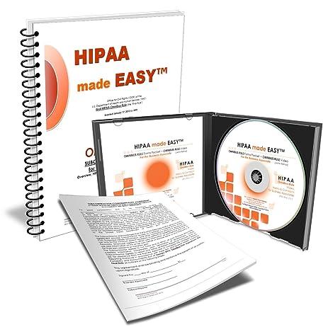 AmazonCom  Hipaa Made Easy Omnibus Rule Subcontractors