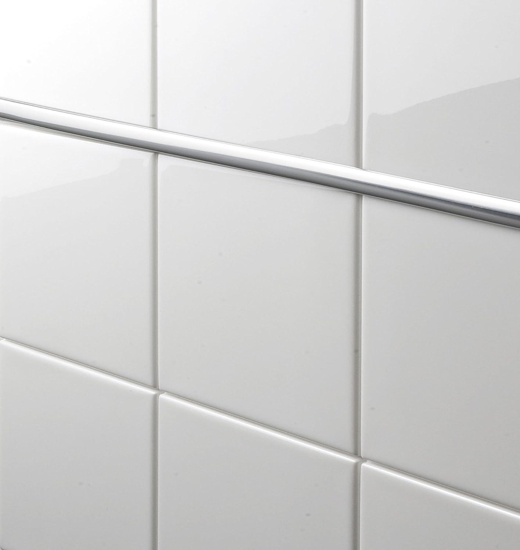 Wenko Bordüre Chrom Selbstklebend Deckend Abwaschbar - Klebe bordüre für fliesen