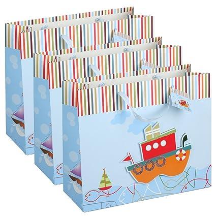 3 x 3d bolsas de regalo para niños, del paquete | Bolsa ...