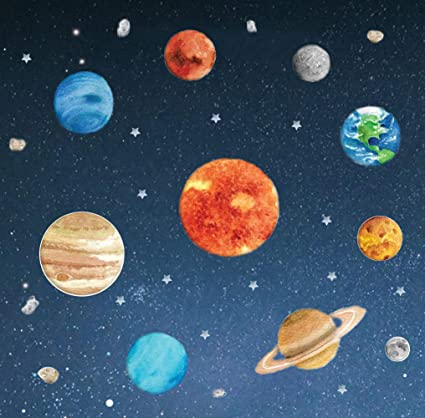 Image Unavailable. Image not available for. Color: Solar System Planet ...