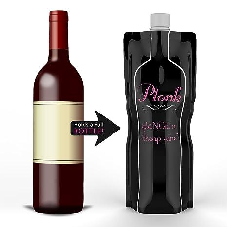 Amazon.com: Vino to go bolsas flexible portable 2 Pack Vino ...