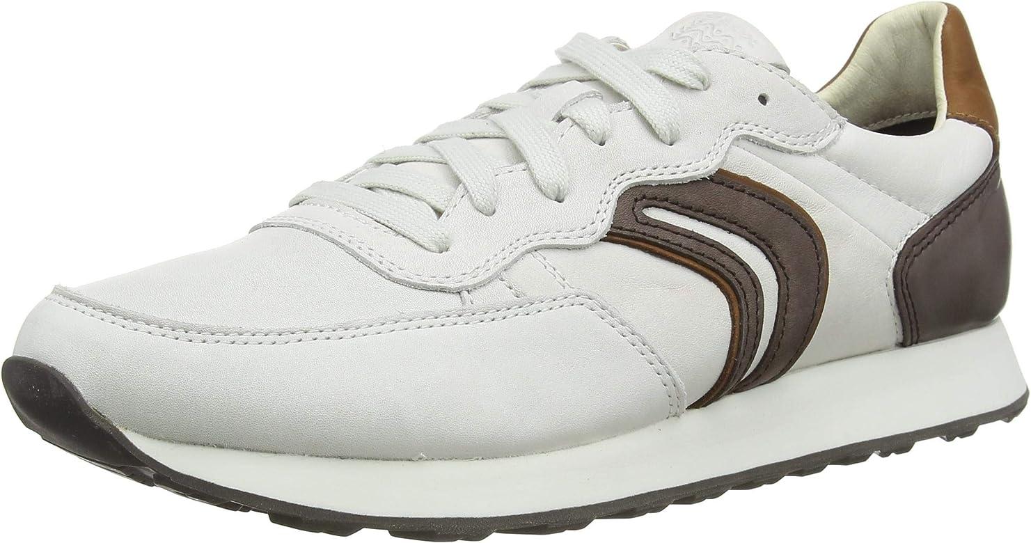 zapatos geox de caballero blanco