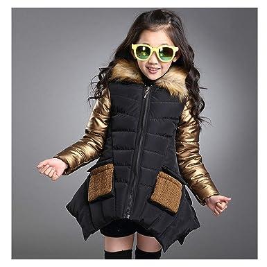 37ca48afb Amazon.com  Fresh -house Solid Teenagers Girls Jacket Autumn Winter ...