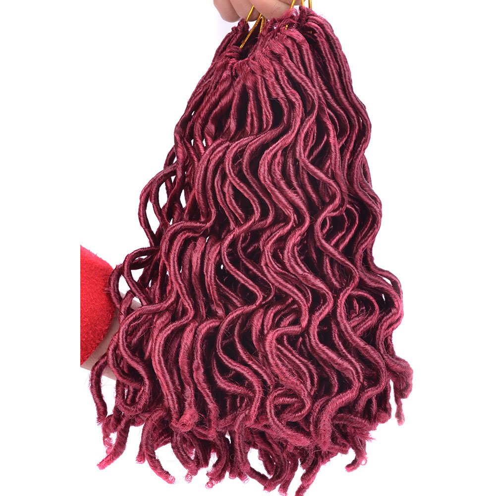 Amazon 12 14 Faux Locs Crochet Hair 2x Janet Collection