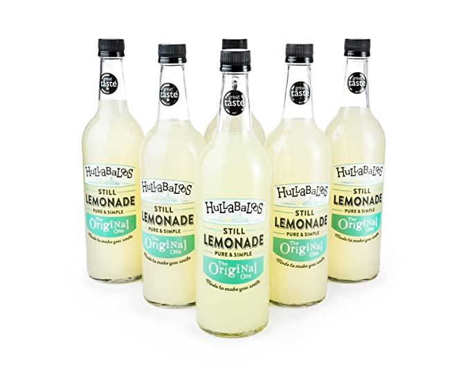 Hullabaloos | Limonada natural y artesanal sabor limón | Elaborada con productos naturales de Inglaterra |