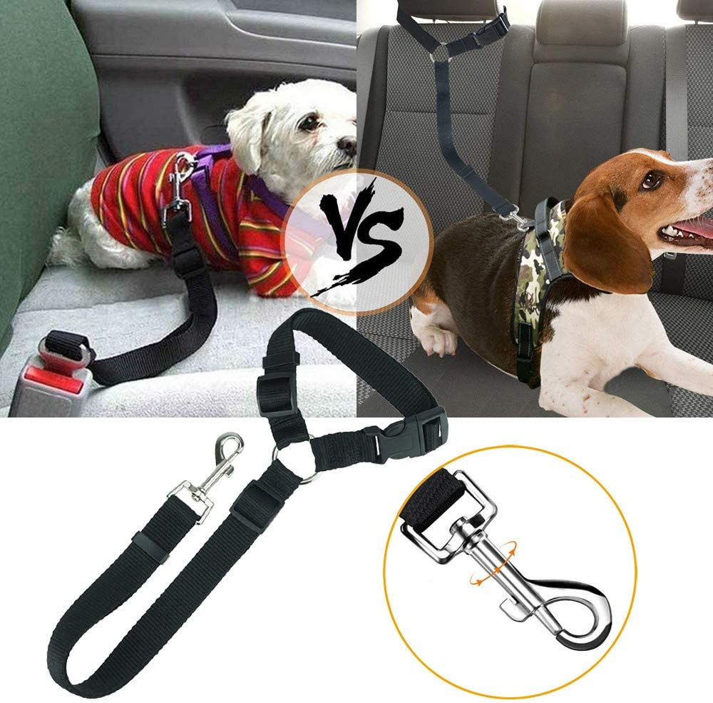 Yizhet Cinturón de Seguridad para Perro Cinturón de Seguridad ...