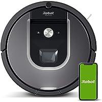 iRobot Roomba 960 Robot Aspirador, Succión 5 Veces Superior, Cepillos de Goma Antienredos, Sensores Dirt Detect, Wifi…