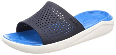 crocs Unisex Literide Slide House Slippers <span at amazon