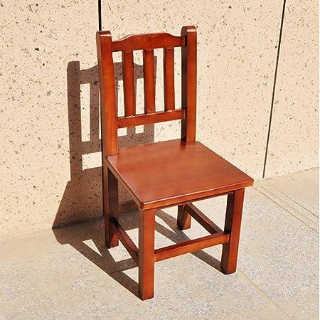 Silla de Madera Maciza para niños, Mueble para una Silla con Respaldo de Escalera de 3 Millones de 11 Pulgadas: Amazon.es: Hogar
