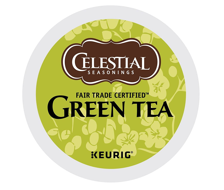 Celestial Seasonings Green Tea, Single Serve Coffee K-Cup Pod, Tea, 72