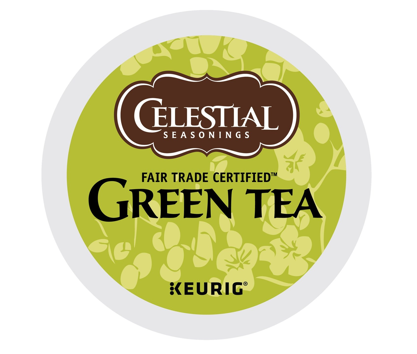Celestial Seasonings Green Tea, Single Serve Coffee K-Cup Pod, Tea, 72 by Celestial Seasonings
