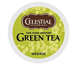 Celestial Seasonings Green Tea, Single Serve Coffee K-Cup Pod, Tea, 72