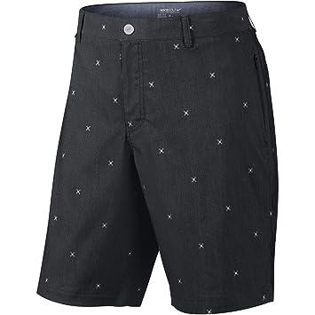 Nike Golf Men's Modern Fit Print Shorts Anthracite/Dark Grey/White/Wolf Grey