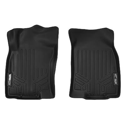 MAXLINER Custom Fit Floor Mats 1st Row Liner Set Black for 2014-2020 Nissan Rogue (No Rogue Sport or Select Models): Automotive