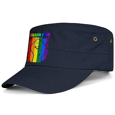 WCAO Gorras Militares Orgullo Gay arcoíris puño cadete Parte ...