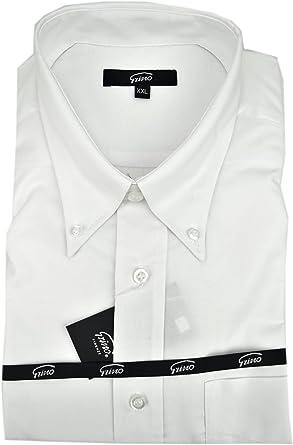 El Hombre De La Camisa Blanca Clásica Oxford Con Botones En El Cuello - XXL: Amazon.es: Ropa y accesorios