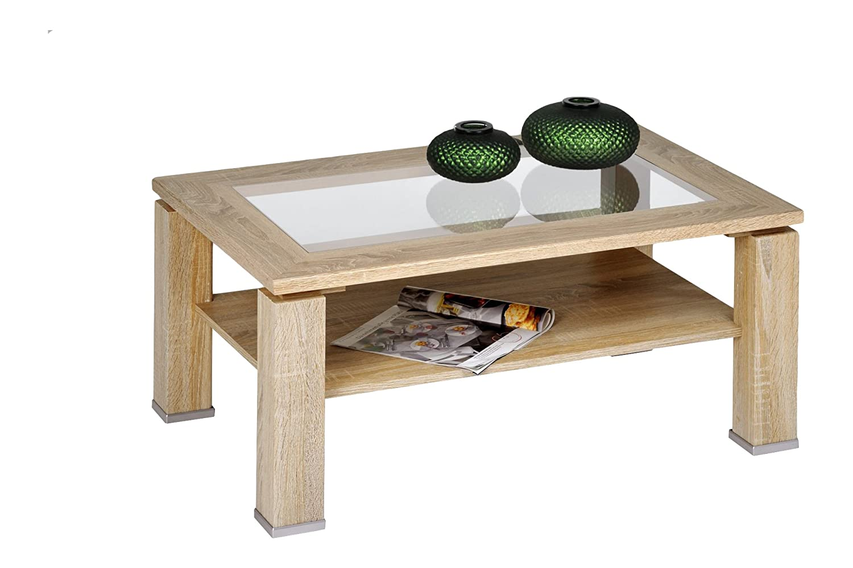 Malta Coffee Table Colour Sonoma Oak Amazon Co Uk Kitchen Home