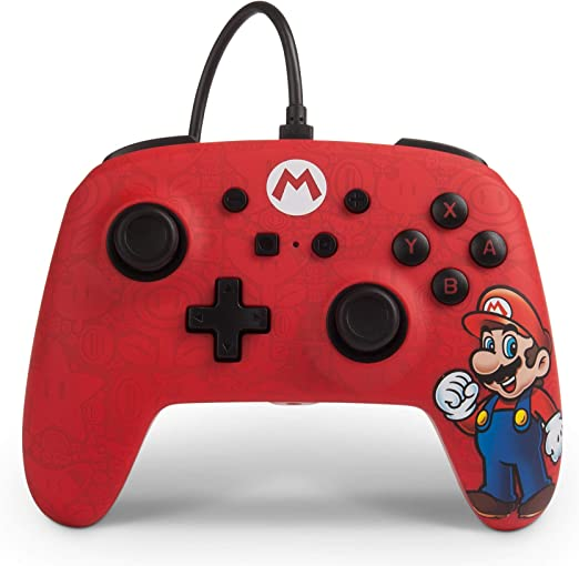 PowerA - Mando con cable Mario (Nintendo Switch): Amazon.es: Videojuegos