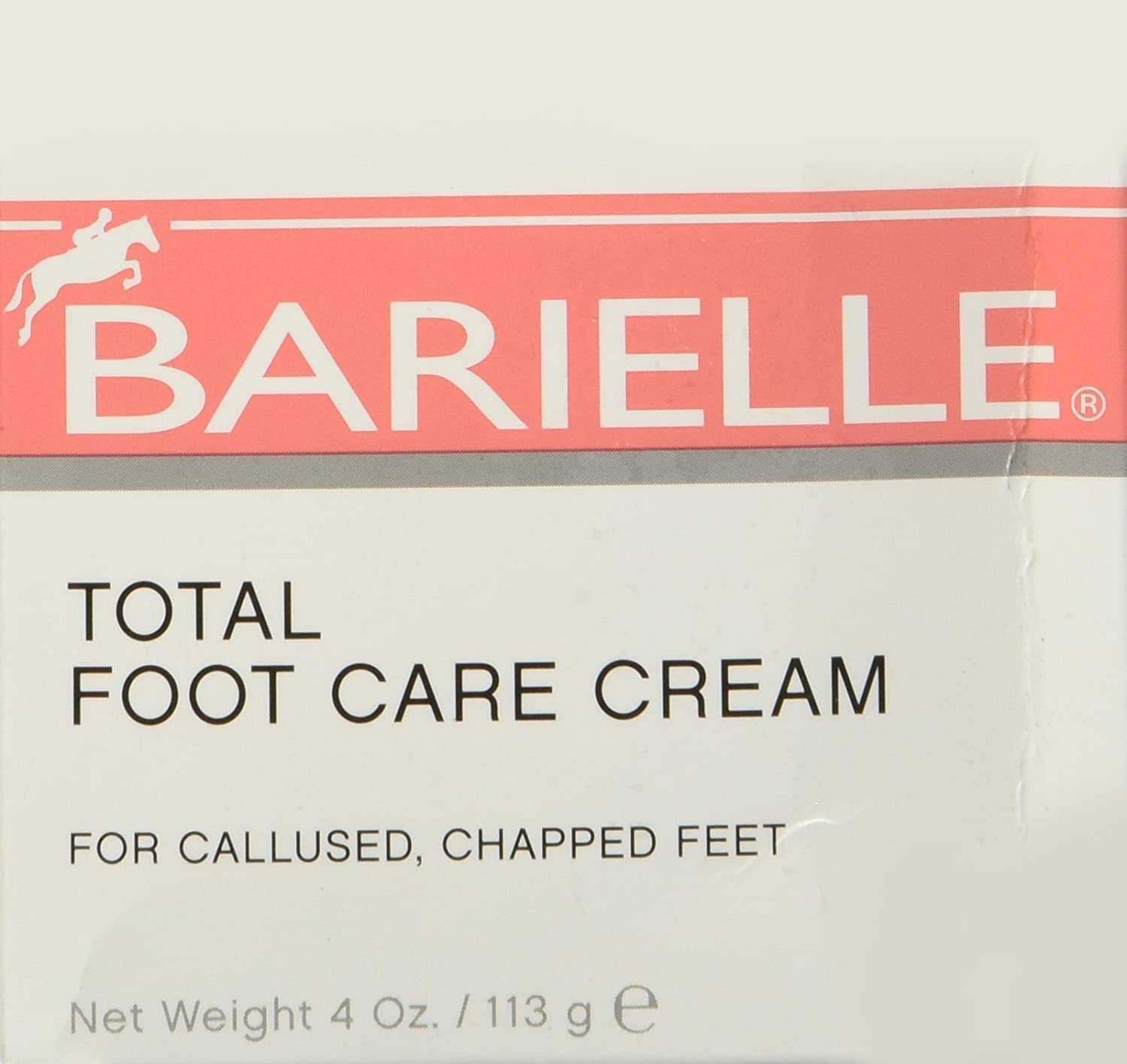 Barielle Total Foot Care Cream 4 Ounces 1012