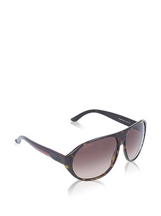 8ae3942cd92 Amazon.com  GUCCI 1025 S Sunglasses 0IPW Havana 60mm  Clothing