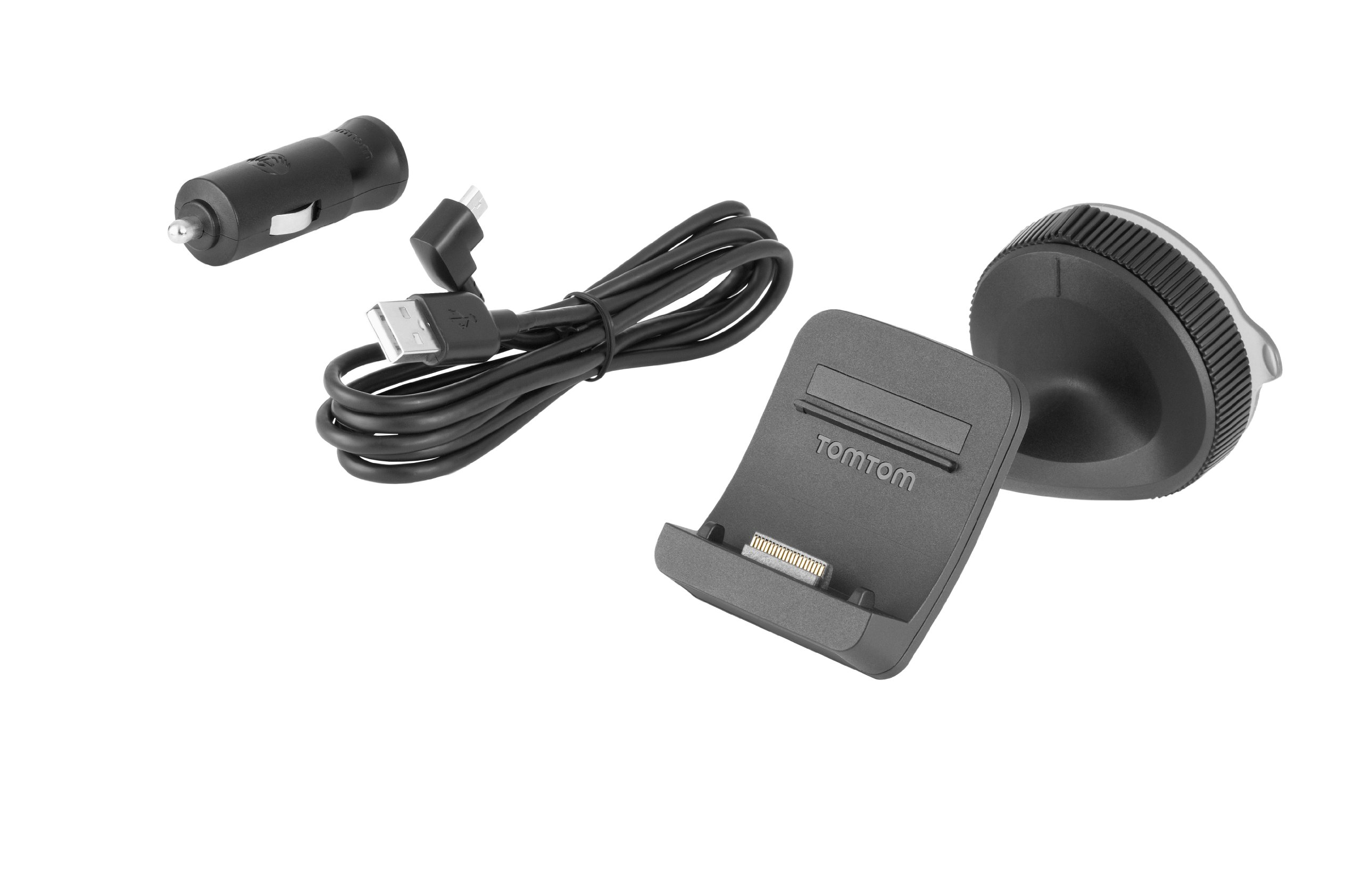 TomTom Click and Go Mount Car Charger and USB Cable product image