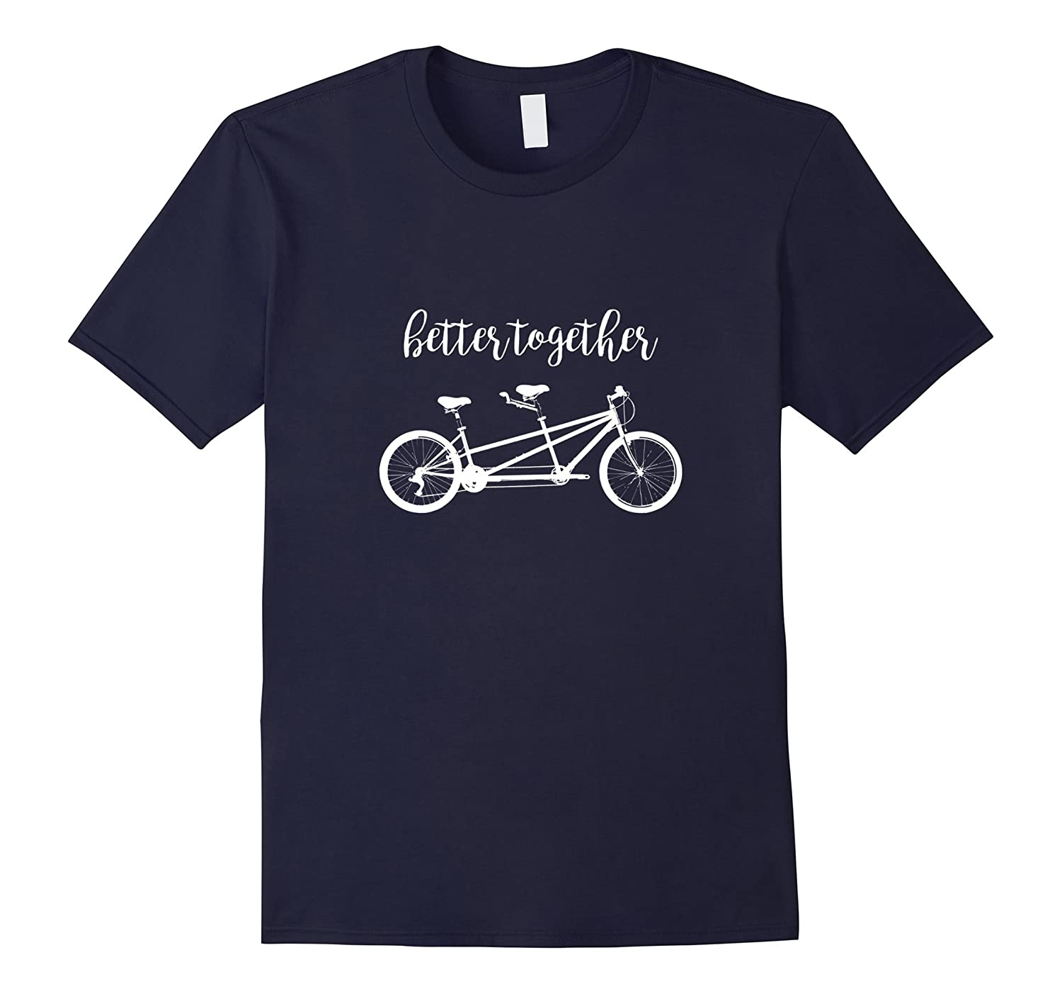 Better Together Tandem Cycling T-shirt-Vaci