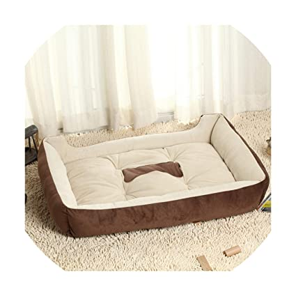 Amazon.com : Pet House Dog Bed for Dogs Cats Small Large ...