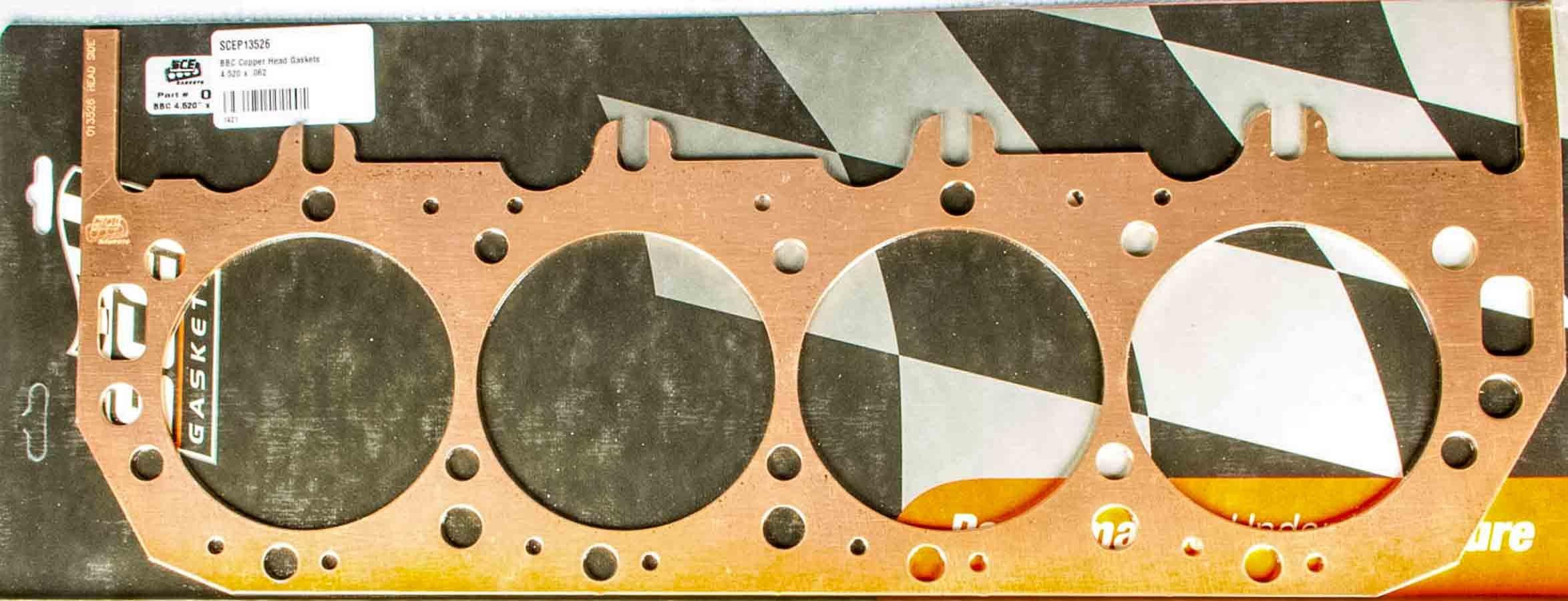 BBC Copper Head Gaskets 4.320 x .042