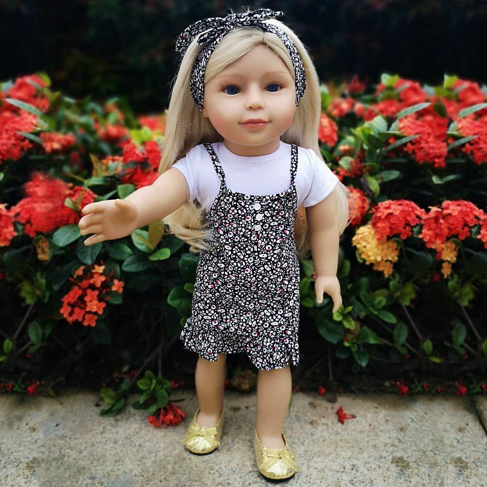 punto de venta barato - LUCKYFANWU Muñeca Americana de 18 Pulgadas, muñeca de de de simulación, Modelo de bebé, muñeca de simulación, Puede Sentarse, Puede acostarse, Puede Estar de pie, Puede Entrar al Agua  venta al por mayor barato