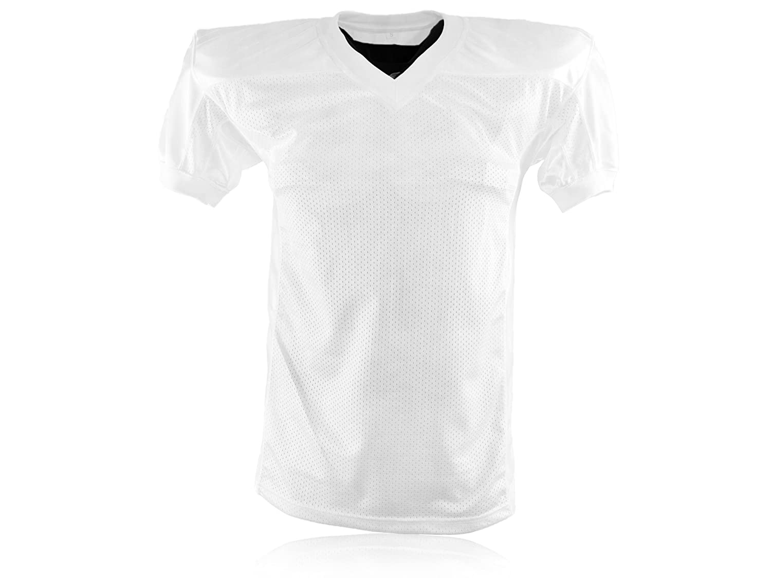 Full Force American Football Gamejersey, Weiss, Gr. YL-5XL Full Force Wear