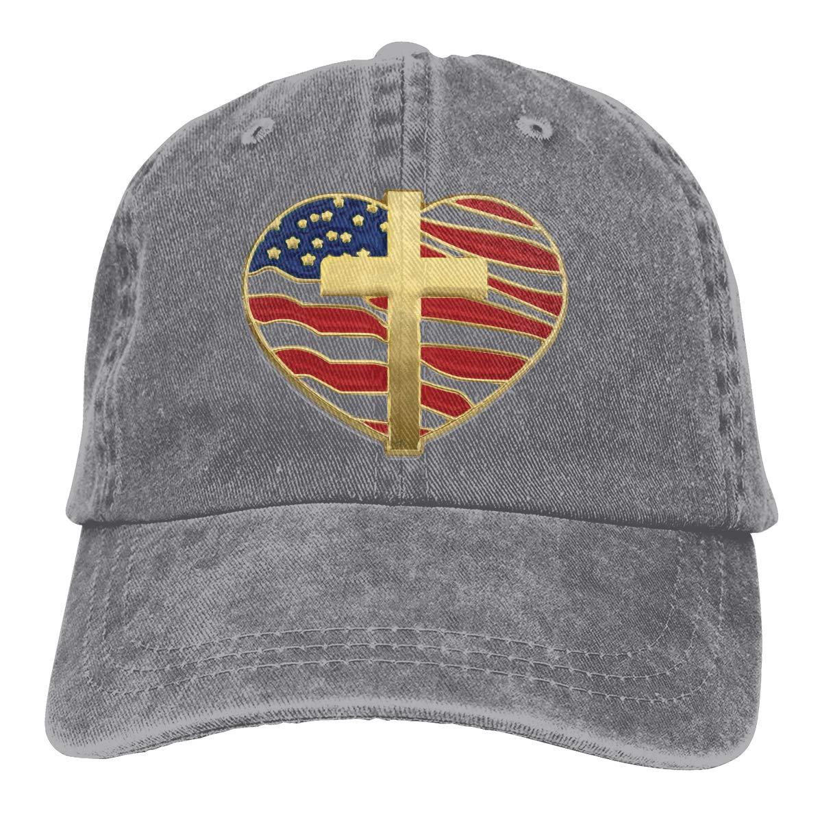 Angel Flag Unisex Custom Cowboy Casquette Adjustable Baseball Cap