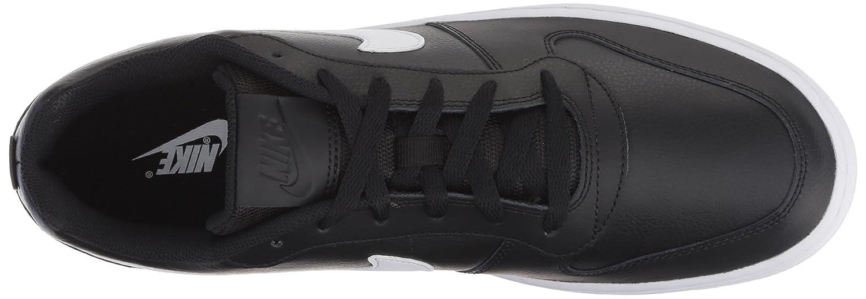 Nike Herren Ebernon Low Sneakers Schwarz (Black/White 002)