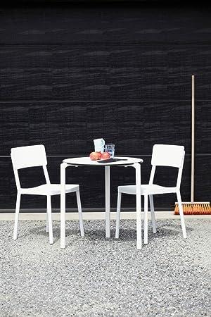 resol Lote DE 4 x sillas Lisboa apilable sho1032014-DESKandSIT-: Amazon.es: Hogar