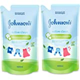 Johnson's Baby Laundry Detergent - Active Clean (500ml x 2 Pcs) 1000ml