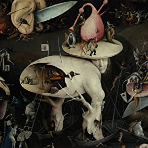 JP London CNVSQM2288 Gallery Wrap Canvas 2In Thick Heavyweight Gallery Wrap Canvas Wall Art The Garden of Earthly Delights Painting At 22In By 22In