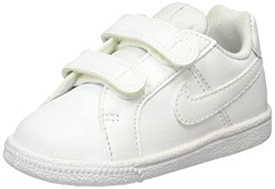 outlet store 9d450 24504 Nike Court Royale (TDV), Unisex Babies  Low-Top Sneakers, Blanco