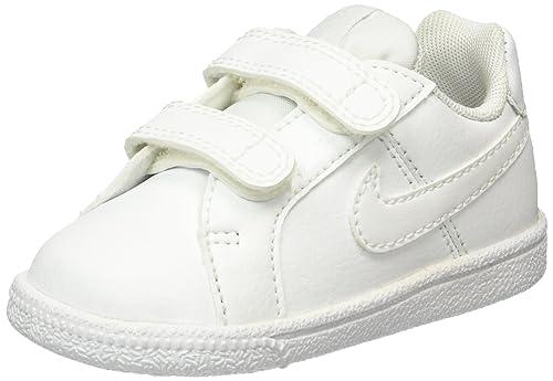 brand new 87e83 26543 Nike Court Royale (TDV), Scarpe da Tennis Unisex-Bambini, Bianco White