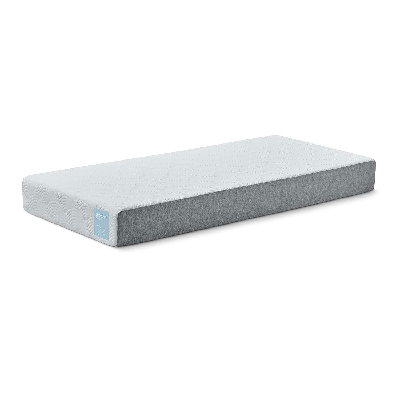 Baldiflex colchón Tempur microtorx Hybrid 24 - Memory Foam - Altura 24 cm, Material Patentado Tempur, Funda Bi-Color con Cremallera, hipoalergénico y ...