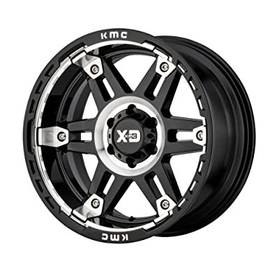 XD SERIES BY KMC WHEELS SPY II GLOSS BLACK MACHINED SPY II 17x9 5x127.00 GLOSS BLACK MACHINED (-12 mm) WHEELAUTOMOTIVE RIM: Automotive
