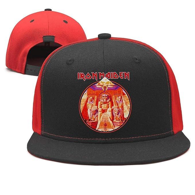 Shihangya Man Iron-Maiden-Poster- Snapback hat Trucker Hats Baseball Caps 9ae4fd23cc0