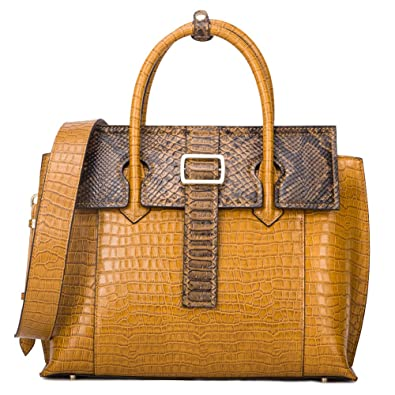 573cef936c33f5 Frauen-echtes Leder-Handtaschen-Luxus-Designer-Handtaschen Top-Griff Taschen