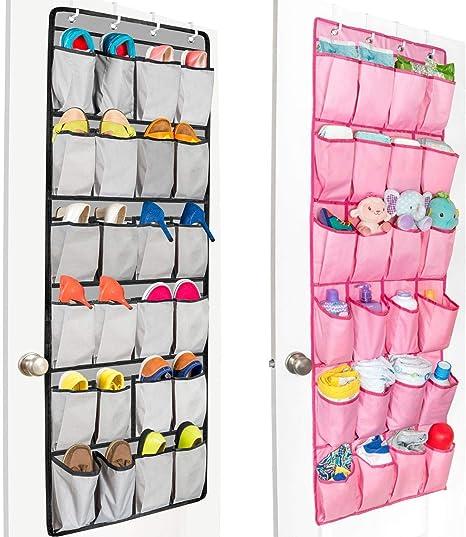 organizador de zapatos Organizador de zapatos para colgar sobre la puerta