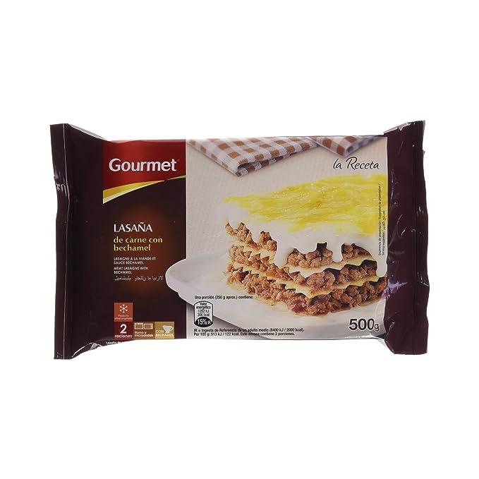 Gourmet - Lasaña de Carne con Bechamel - 500 g