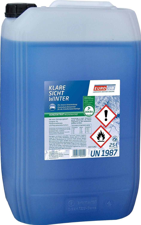 EUROLUB 803025 Liquido antigelo per cristalli, 25 Litri EUROLUB GmbH