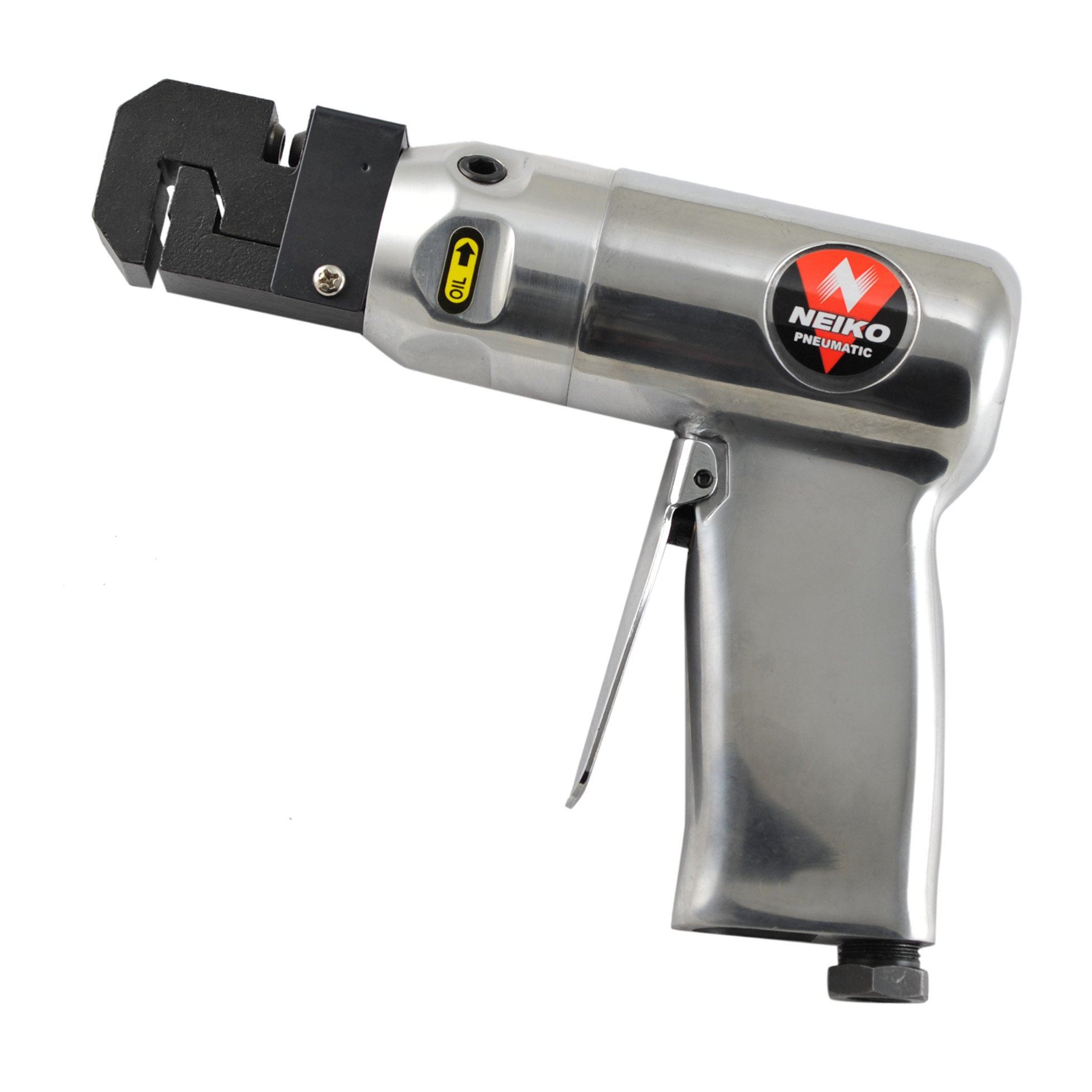 Neiko 30091A Pneumatic Hole Punch and Flange Crimp Joggler Tool, Pistol Grip | 1/4'' NPT Air Inlet, 90-120 PSI by Neiko (Image #4)