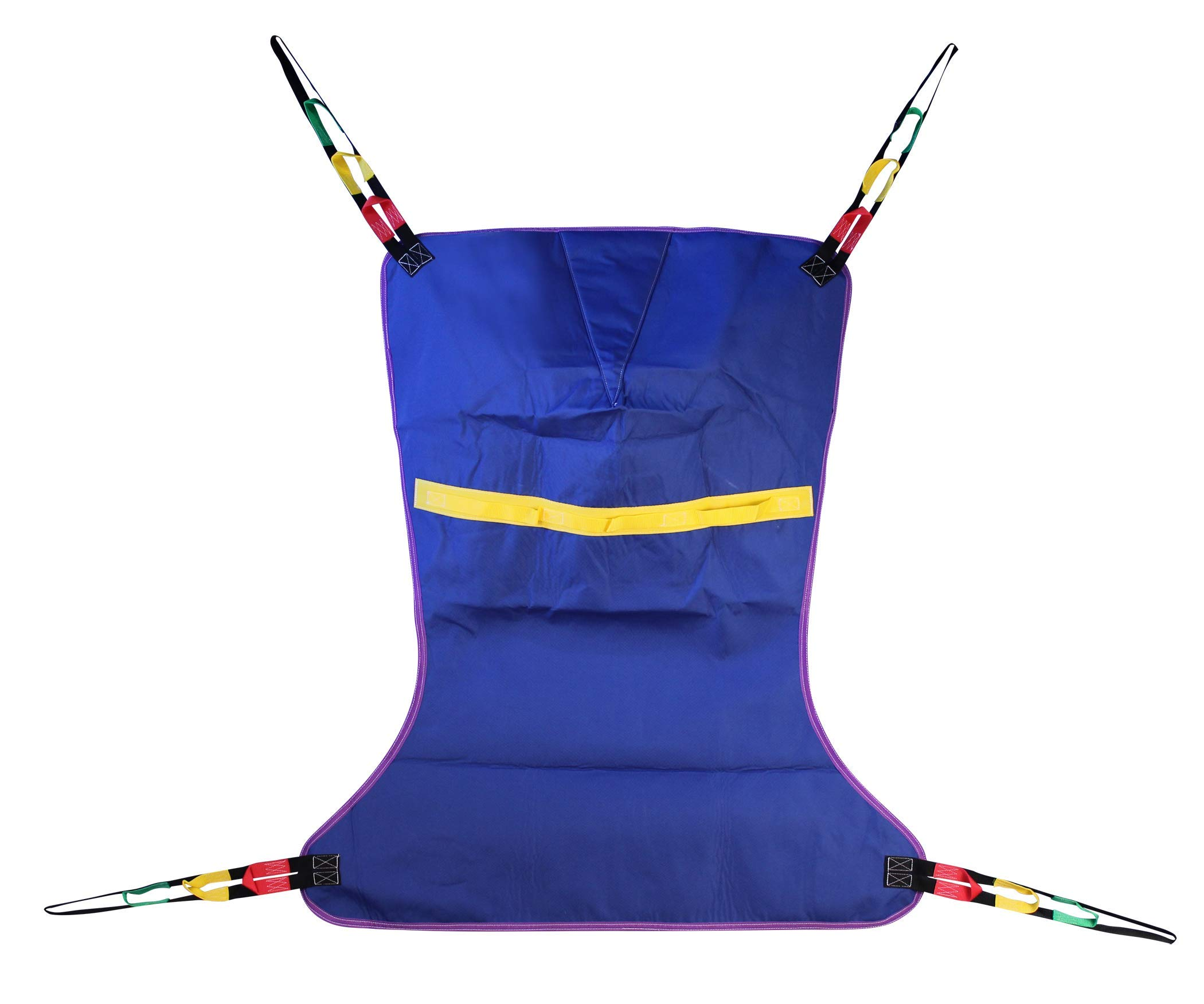 ProHeal Universal Full Body Lift Sling, XX Large, 64''L x 45'' - Solid Fabric Polyester Slings for Patient Lifts - Compatible with Hoyer, Invacare, McKesson, Drive, Lumex, Medline, Joerns and More by ProHeal