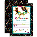 Amazoncom Roller Skating Birthday Party Invitations for Girls