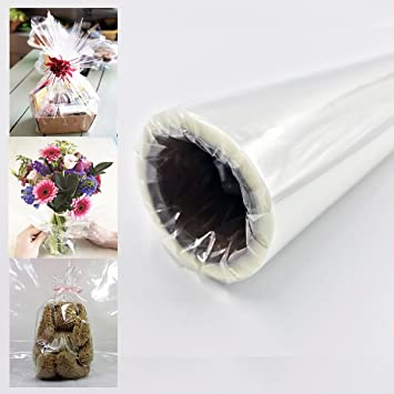 Amazon Craft And Party Super Clear Cellophane Wrap Roll 30 X