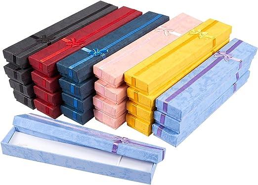 Amazon.com: Juego de 24 cajas de regalo – Joyero para ...